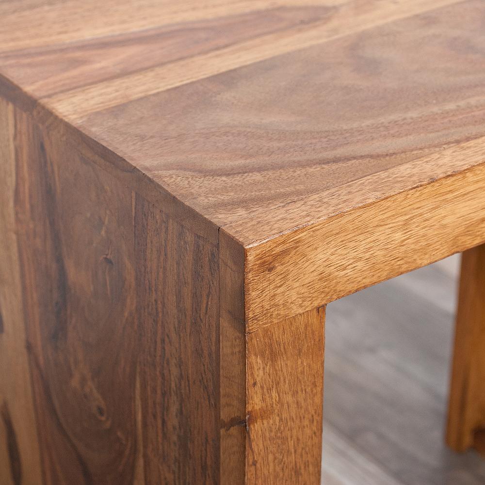 beistelltisch nest l 45cm farbe stone n akazie. Black Bedroom Furniture Sets. Home Design Ideas