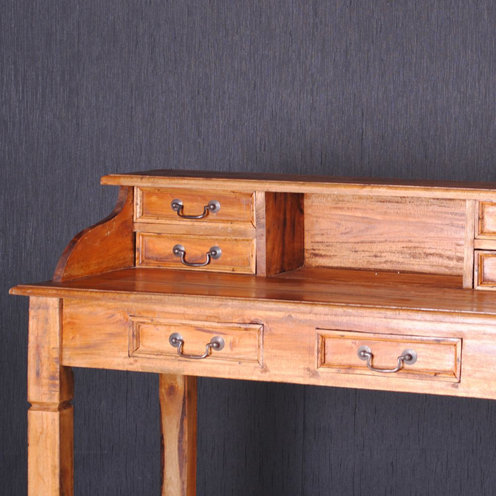 massivholz schreibtisch sekret r holz mahagoni b rotisch. Black Bedroom Furniture Sets. Home Design Ideas