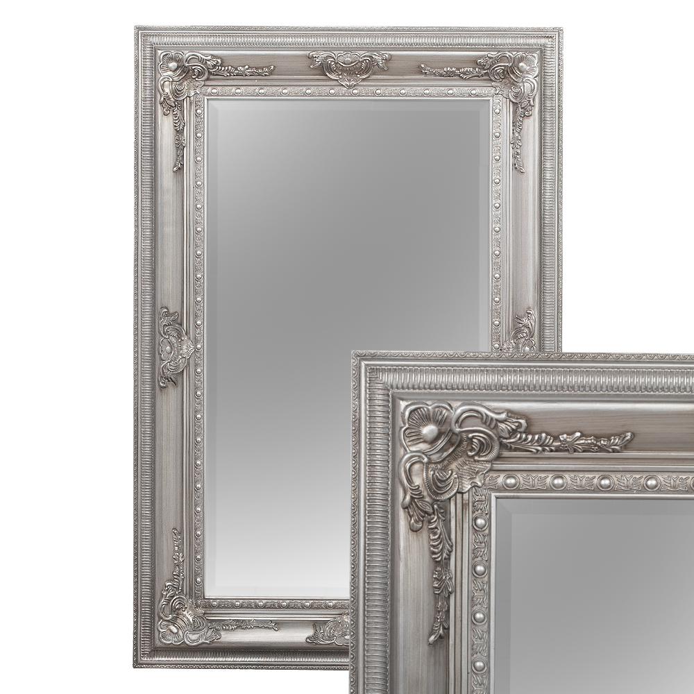 spiegel eve silber antik 120x80cm 2685. Black Bedroom Furniture Sets. Home Design Ideas
