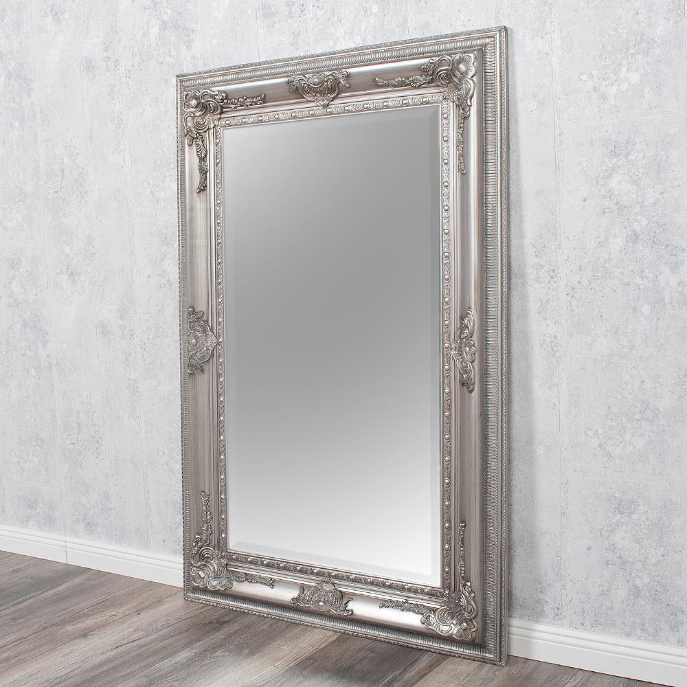 Wandspiegel eve 120x80cm spiegel silber antik pomp s for Spiegel 80 x 120