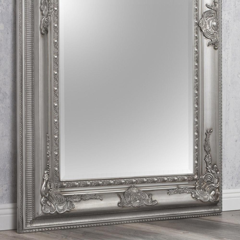 spiegel eve silber antik 180x100cm 2737. Black Bedroom Furniture Sets. Home Design Ideas