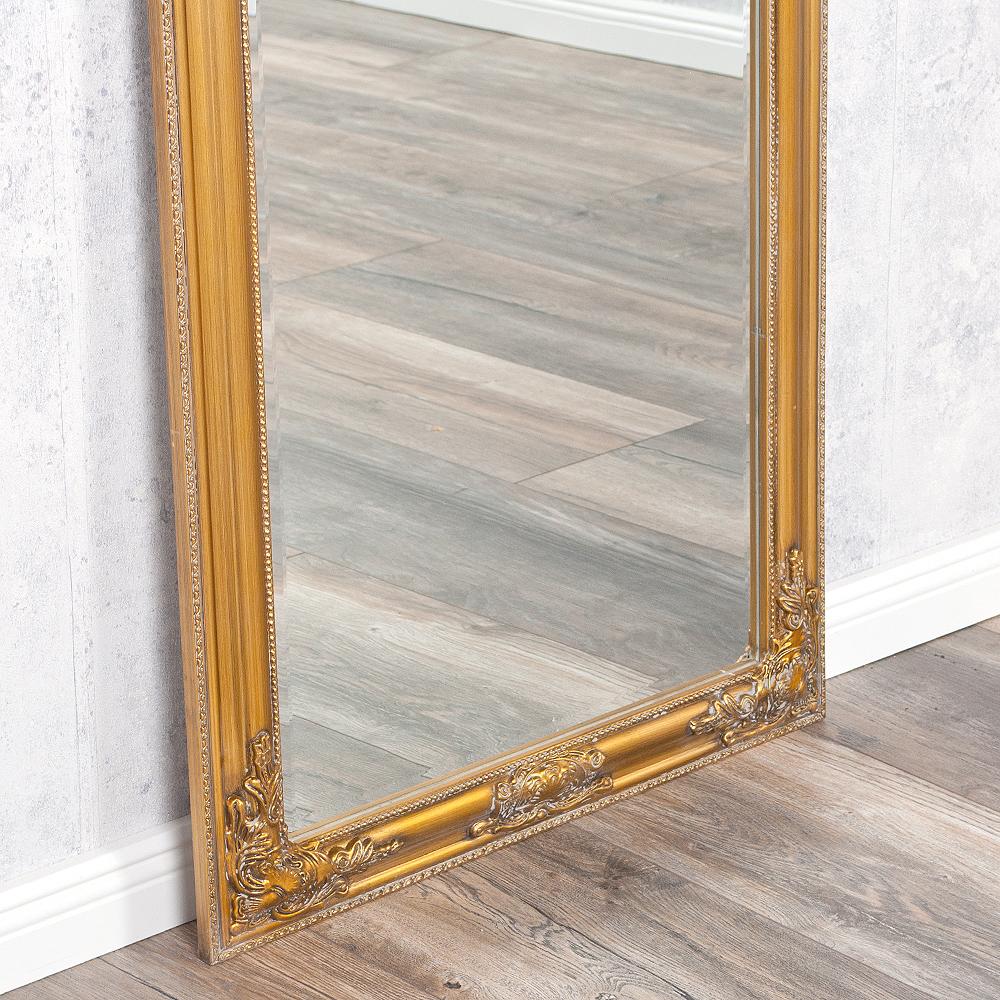 spiegel bessa barock gold antik 180x70cm 2822. Black Bedroom Furniture Sets. Home Design Ideas