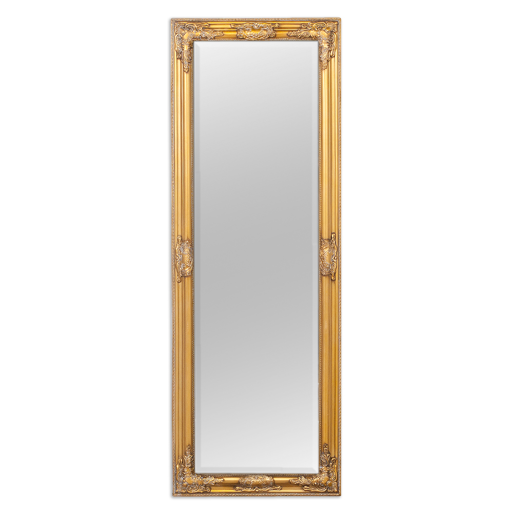 Wandspiegel bessa gold antik 140x50cm barock design spiegel pomp s holzrahmen ebay - Spiegel x ...