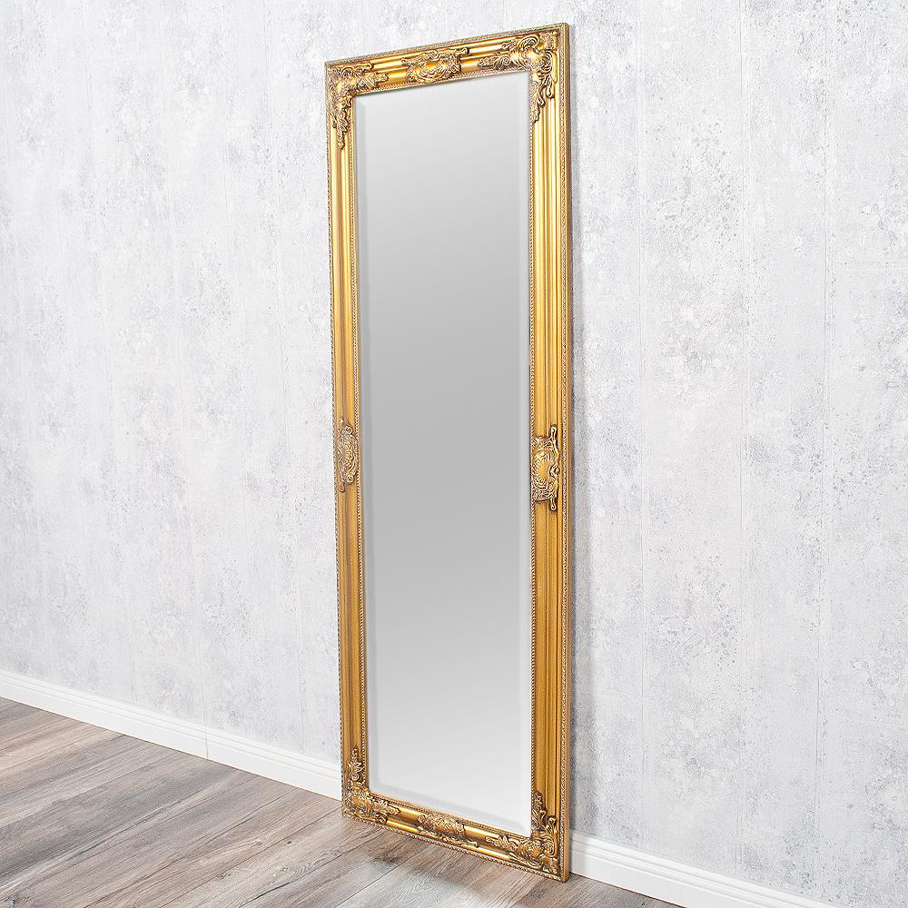 spiegel bessa barock gold antik 140x50cm 2830. Black Bedroom Furniture Sets. Home Design Ideas
