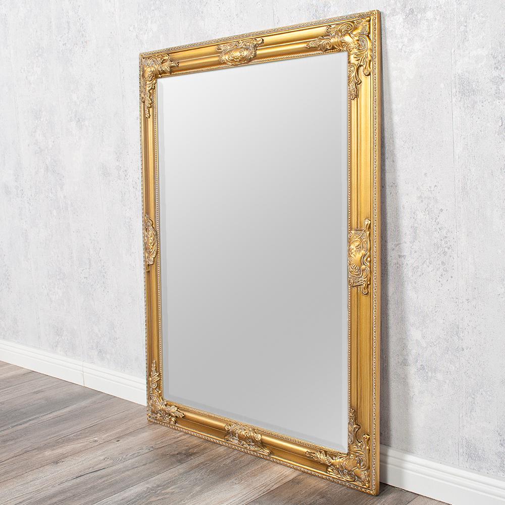 spiegel bessa barock gold antik 90x70cm 2833. Black Bedroom Furniture Sets. Home Design Ideas