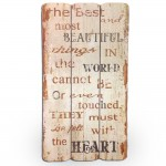 Antik Wandschild MY HEART Vintage Retro Schild 001
