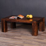 Sheesham/Palisander Couchtisch ROMEO Dark-Brown 110x60cm 001