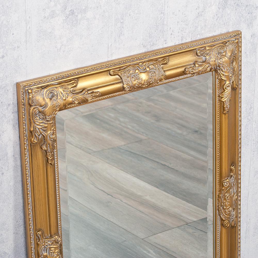 spiegel bessa barock gold antik 70x50cm 3397. Black Bedroom Furniture Sets. Home Design Ideas