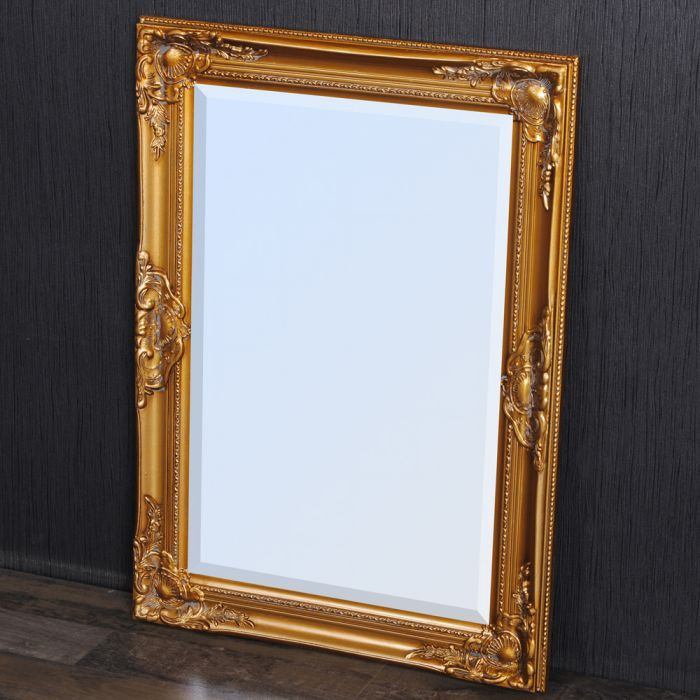 spiegel leandos barock gold antik 70x50cm 3415. Black Bedroom Furniture Sets. Home Design Ideas