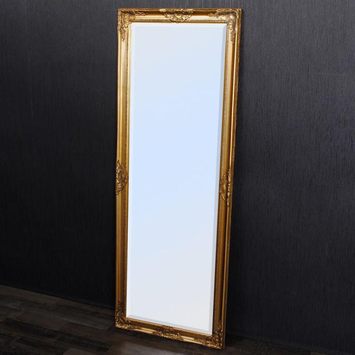 spiegel leandos barock gold antik 140x50cm 3417. Black Bedroom Furniture Sets. Home Design Ideas