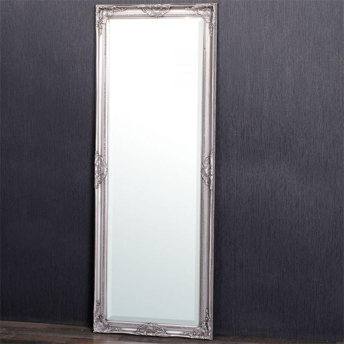 spiegel leandos barock silber antik 140x50cm 3418. Black Bedroom Furniture Sets. Home Design Ideas