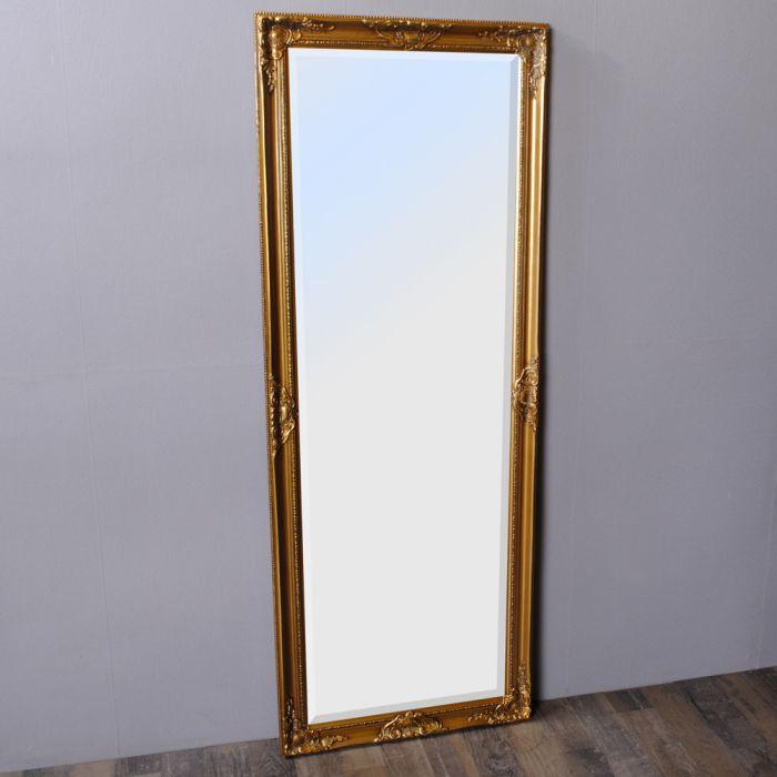 spiegel leandos barock gold antik 160x60cm 3421. Black Bedroom Furniture Sets. Home Design Ideas