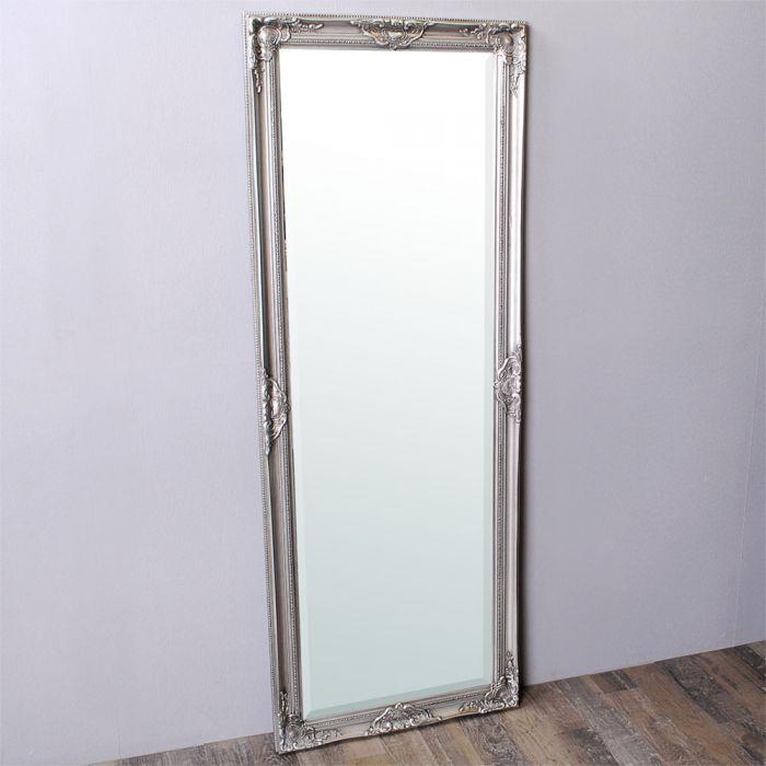 spiegel leandos barock silber antik 160x60cm 3422. Black Bedroom Furniture Sets. Home Design Ideas