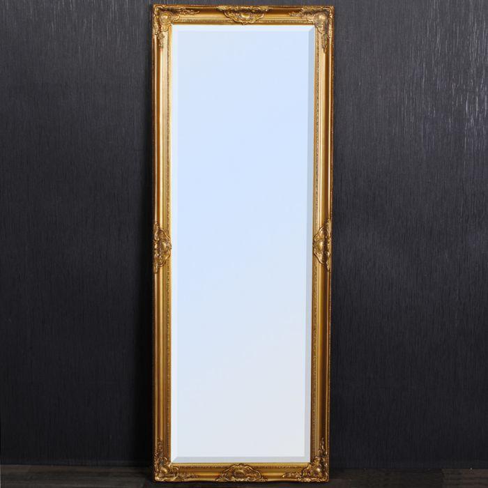 spiegel leandos barock gold antik 180x70cm 3425. Black Bedroom Furniture Sets. Home Design Ideas