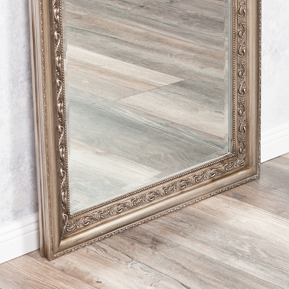 Spiegel argento barock silber antik 160x60cm 3566 - Antik spiegel silber ...