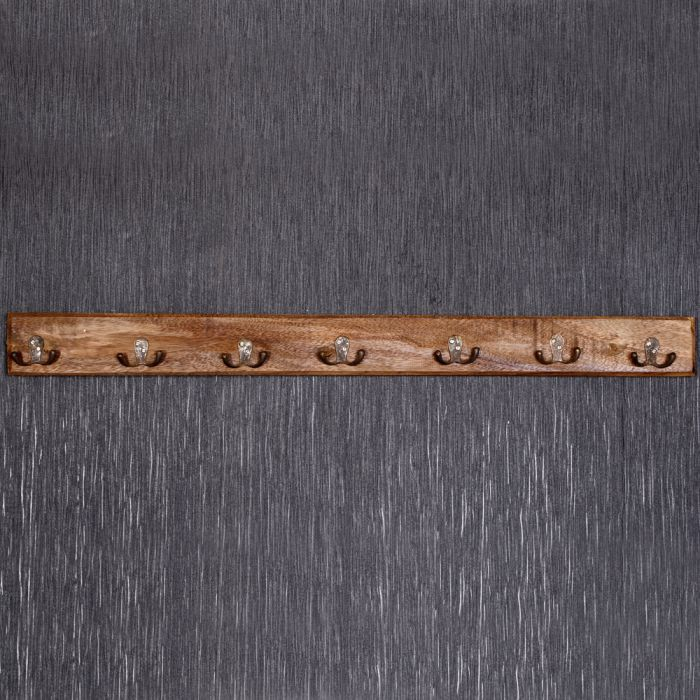garderobe rustikal 90cm natural holz recycelt 3709. Black Bedroom Furniture Sets. Home Design Ideas