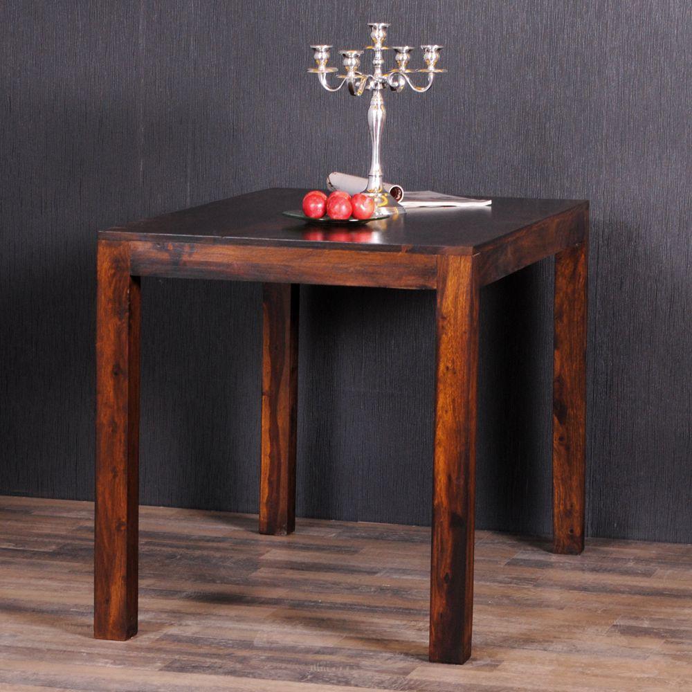 esstisch dambo 100x70cm dark brown a akazie massivholz k chentisch esstisch holz ebay. Black Bedroom Furniture Sets. Home Design Ideas