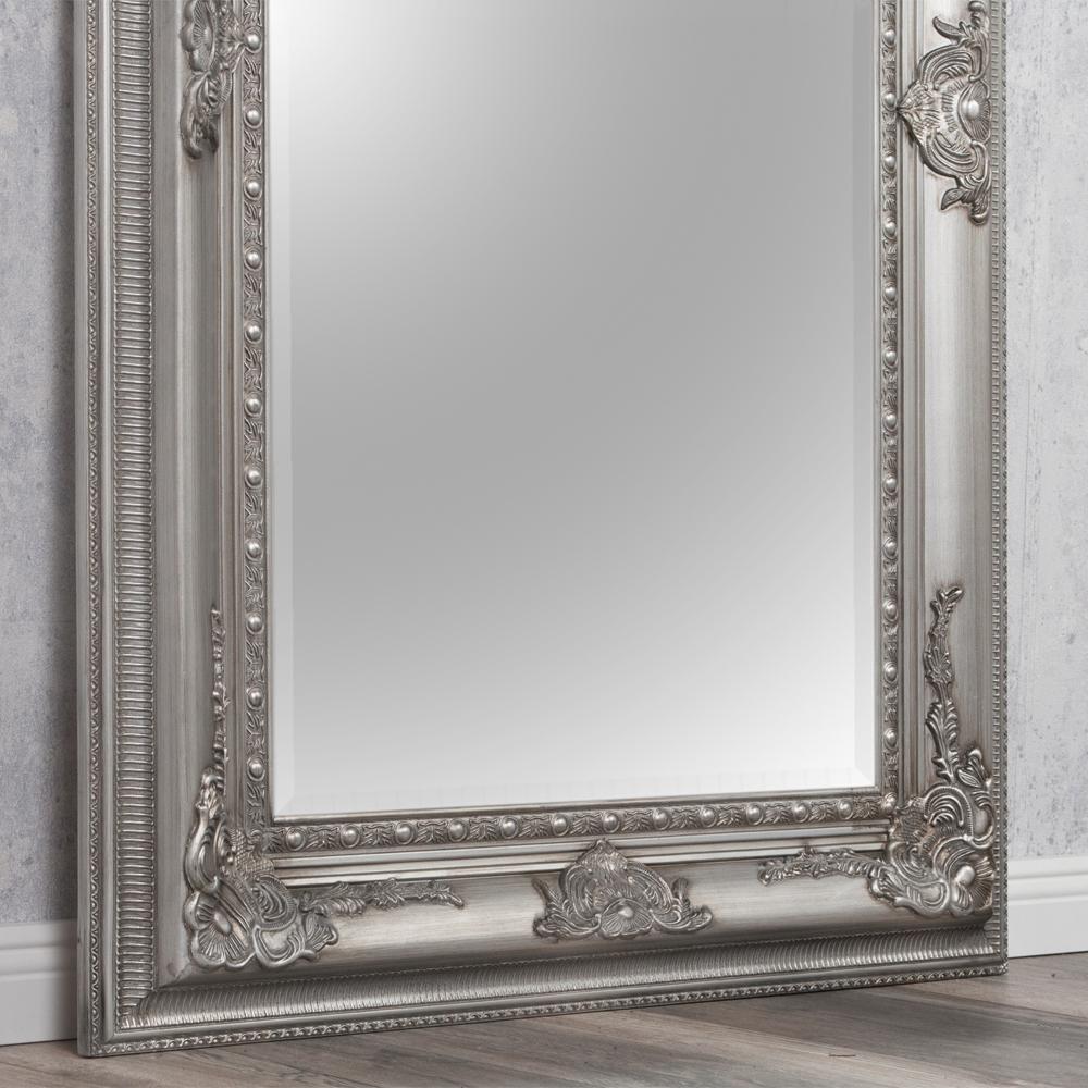 Wandspiegel eve 200x110cm spiegel silber antik pomp s for Spiegel 200 x 100