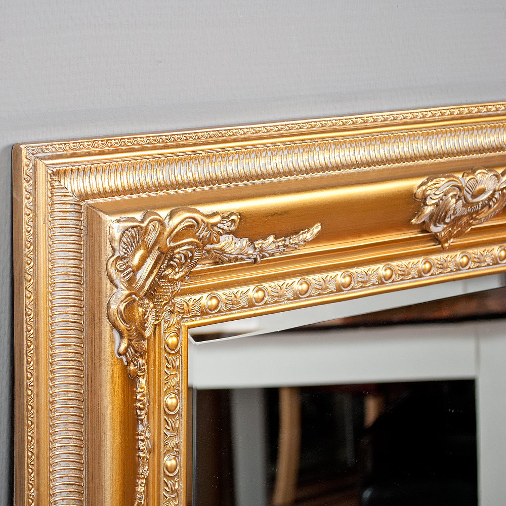 spiegel eve gold antik 180x100cm 3866. Black Bedroom Furniture Sets. Home Design Ideas