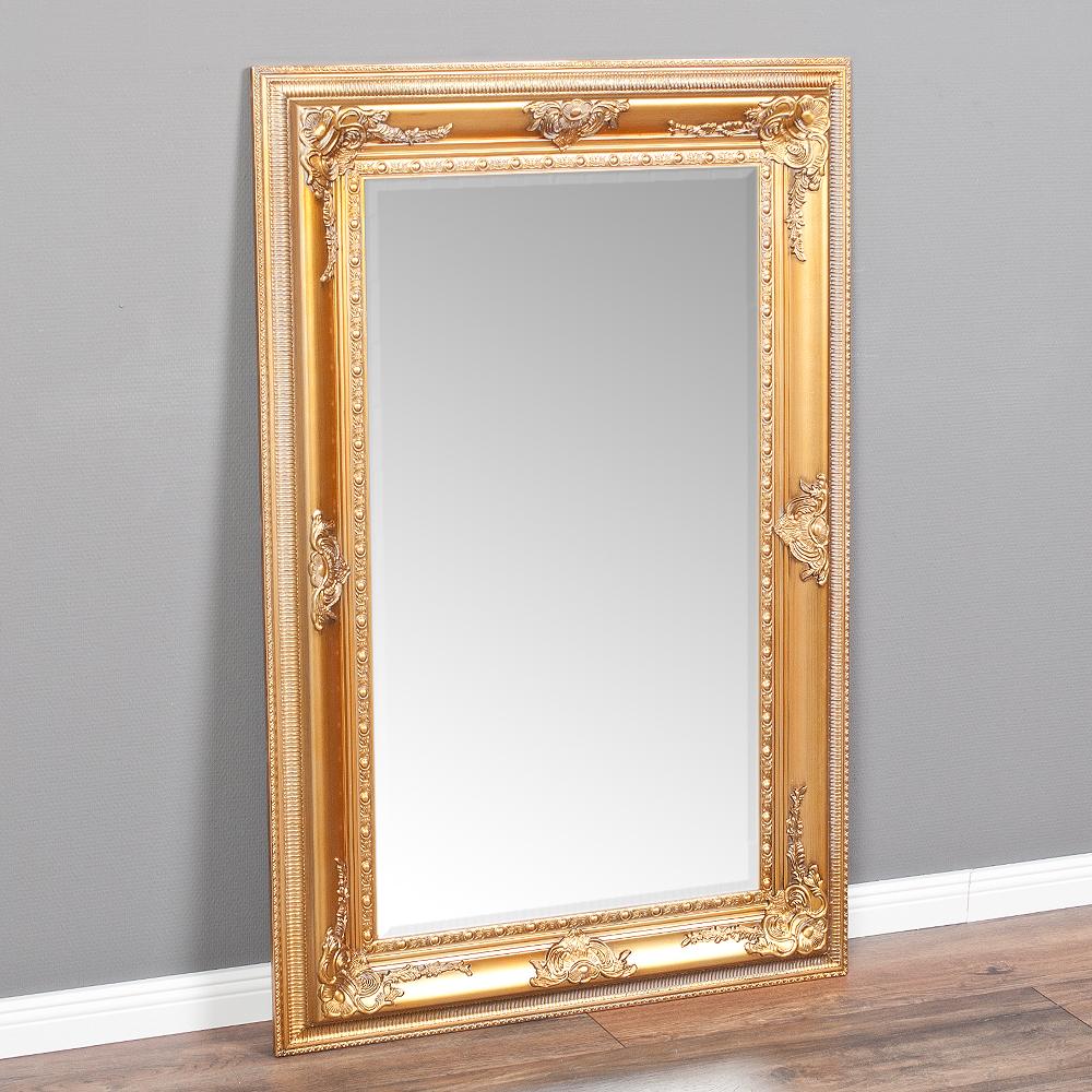 spiegel eve gold antik 120x80cm 3867. Black Bedroom Furniture Sets. Home Design Ideas