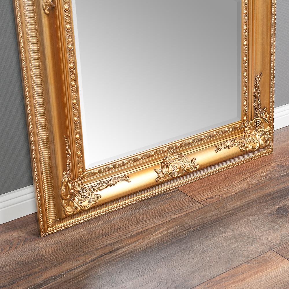 wandspiegel eve 120x80cm spiegel gold antik pomp s barock holzrahmen facette ebay. Black Bedroom Furniture Sets. Home Design Ideas