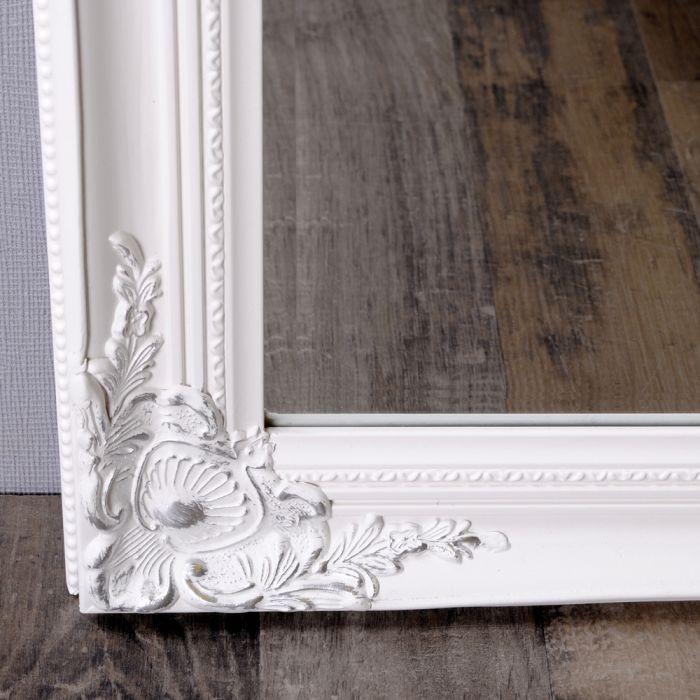 wandspiegel barock pomp s spiegel leandos 100x50cm weiss. Black Bedroom Furniture Sets. Home Design Ideas