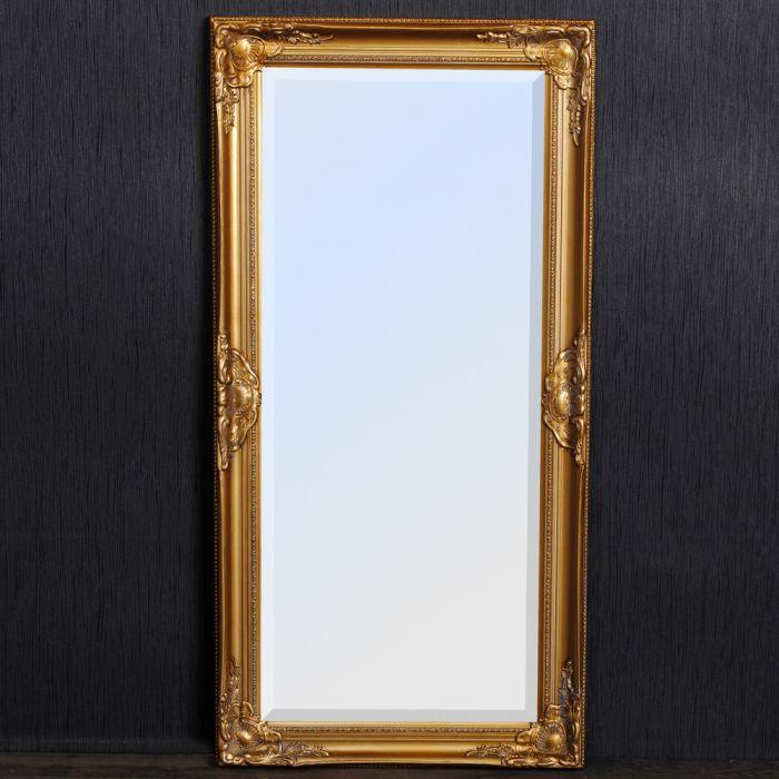 spiegel leandos barock gold antik 100x50cm 4069. Black Bedroom Furniture Sets. Home Design Ideas