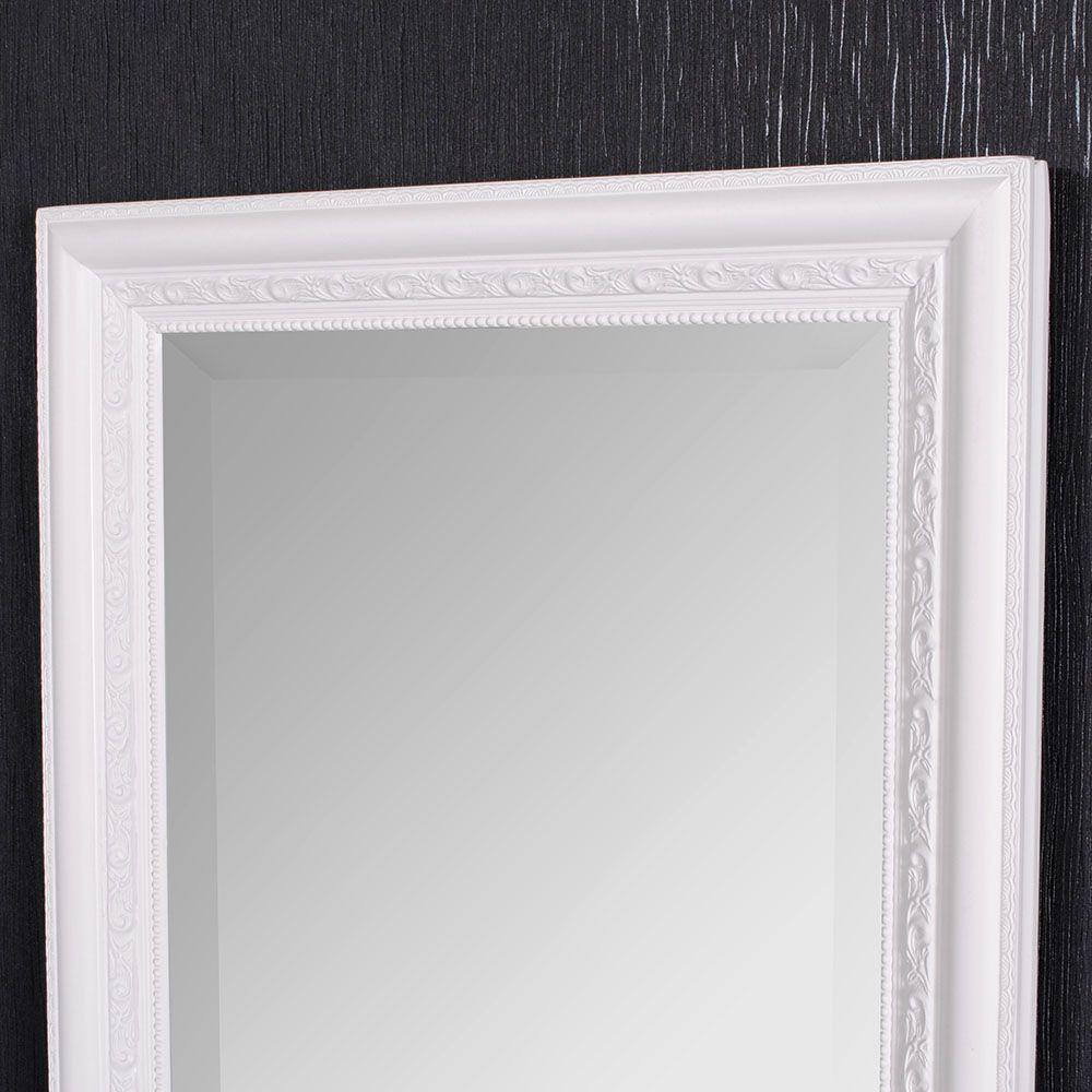 spiegel argento barock pur wei 140x50cm 4074. Black Bedroom Furniture Sets. Home Design Ideas