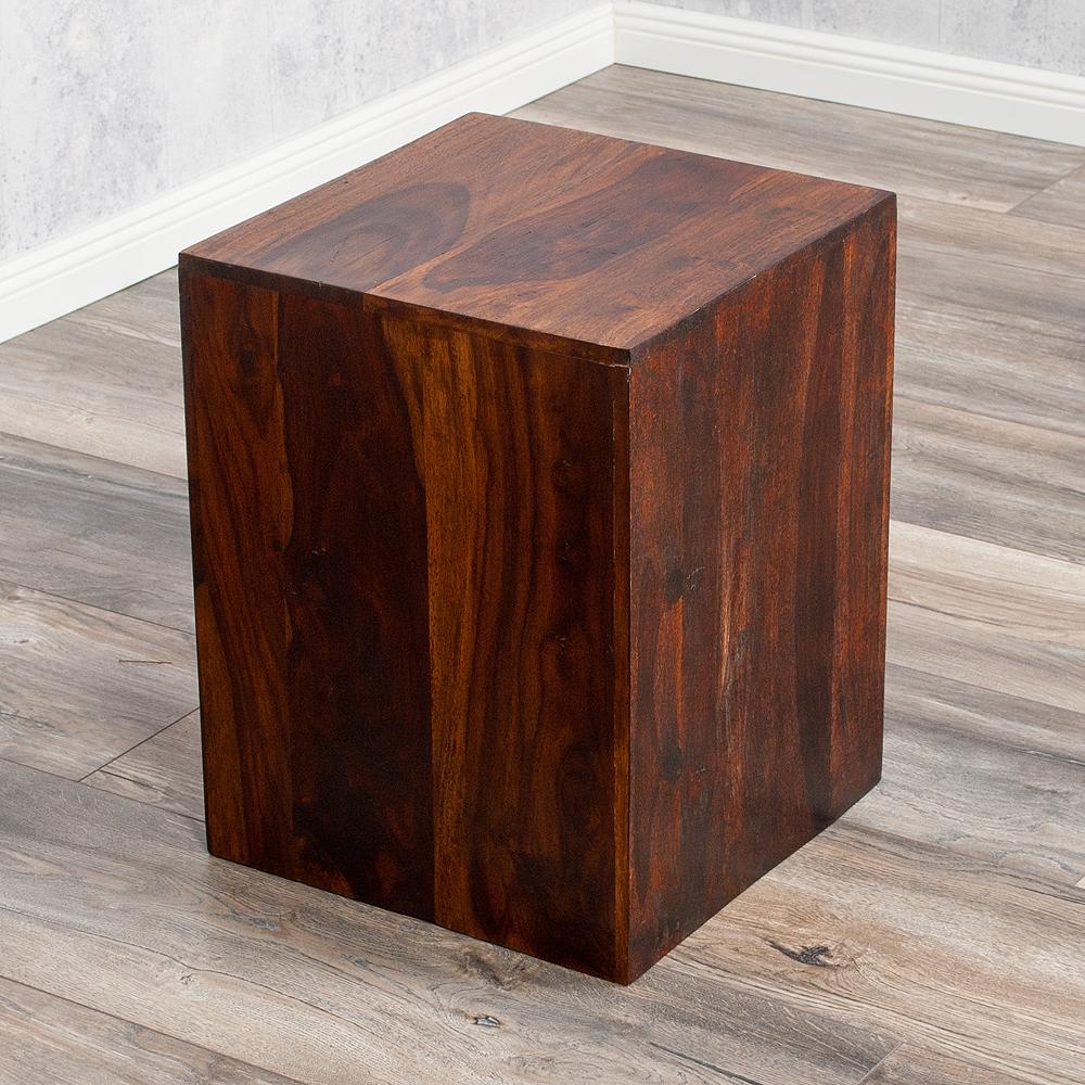 Beistelltisch ramu palisander dark brown 45cm 4085 for Beistelltisch palisander