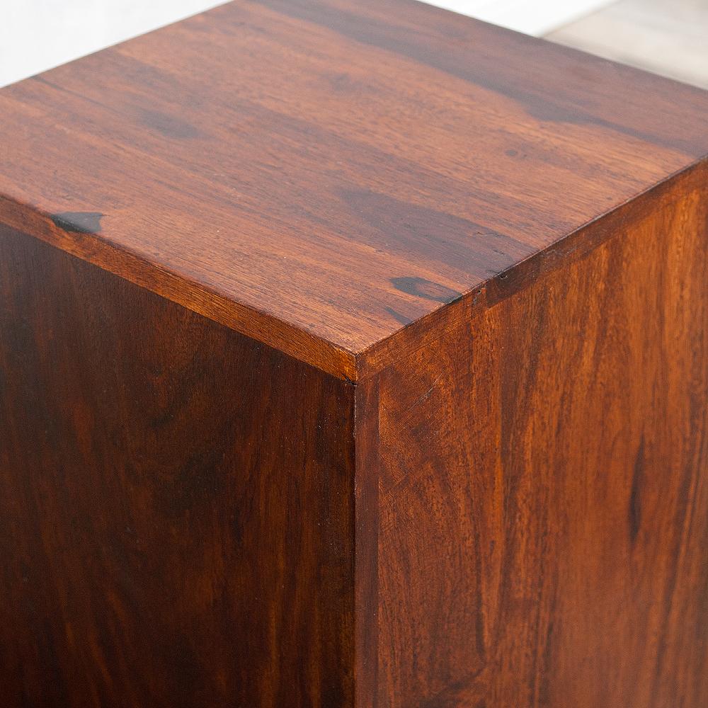 Beistelltisch ramu palisander dark brown 40cm 4086 for Beistelltisch palisander