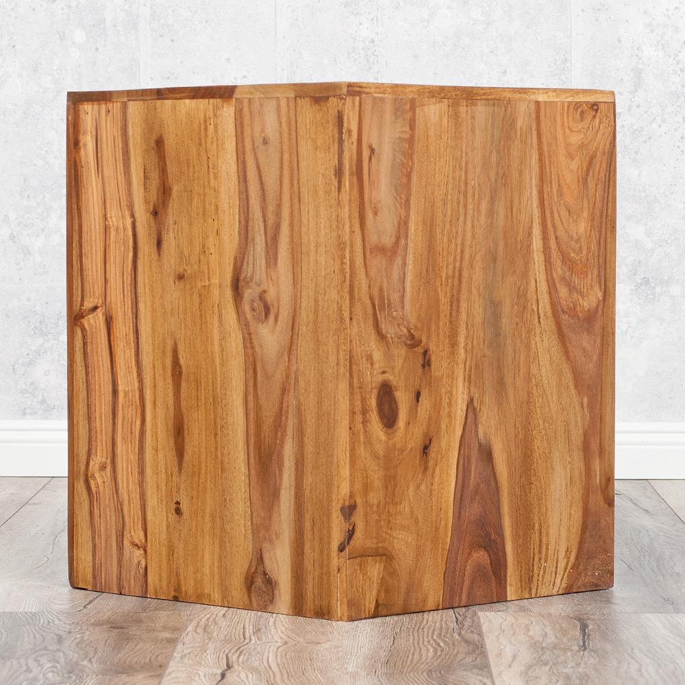Beistelltisch ramu palisander stone 45cm 4094 for Beistelltisch palisander