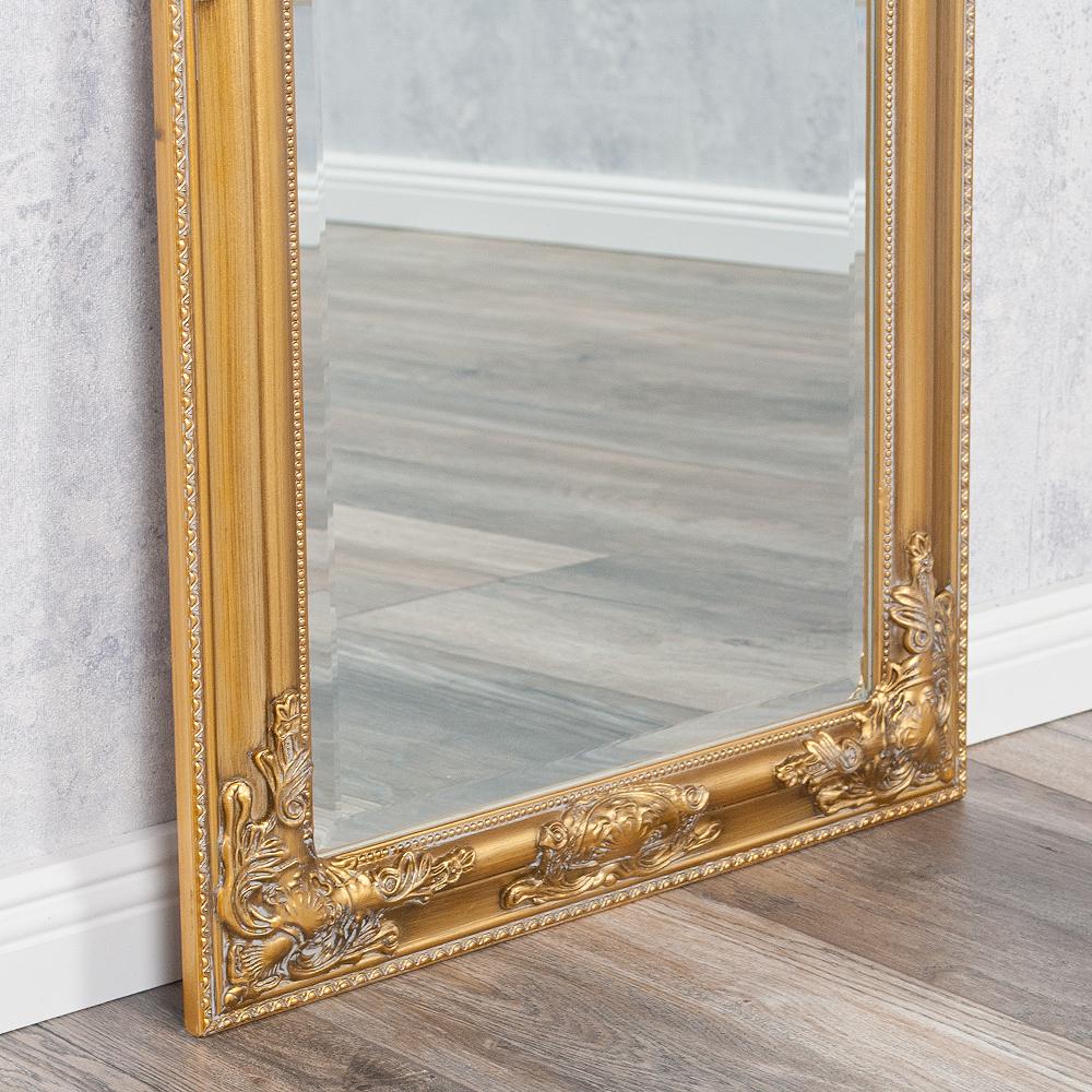 spiegel bessa barock gold antik 100x50cm 4135. Black Bedroom Furniture Sets. Home Design Ideas