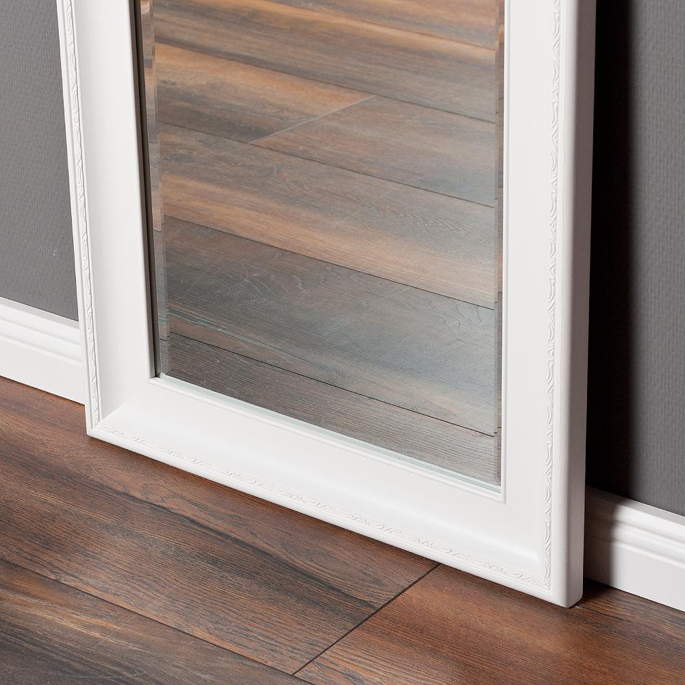 spiegel copia 100x50cm pur wei wandspiegel barock 4314. Black Bedroom Furniture Sets. Home Design Ideas