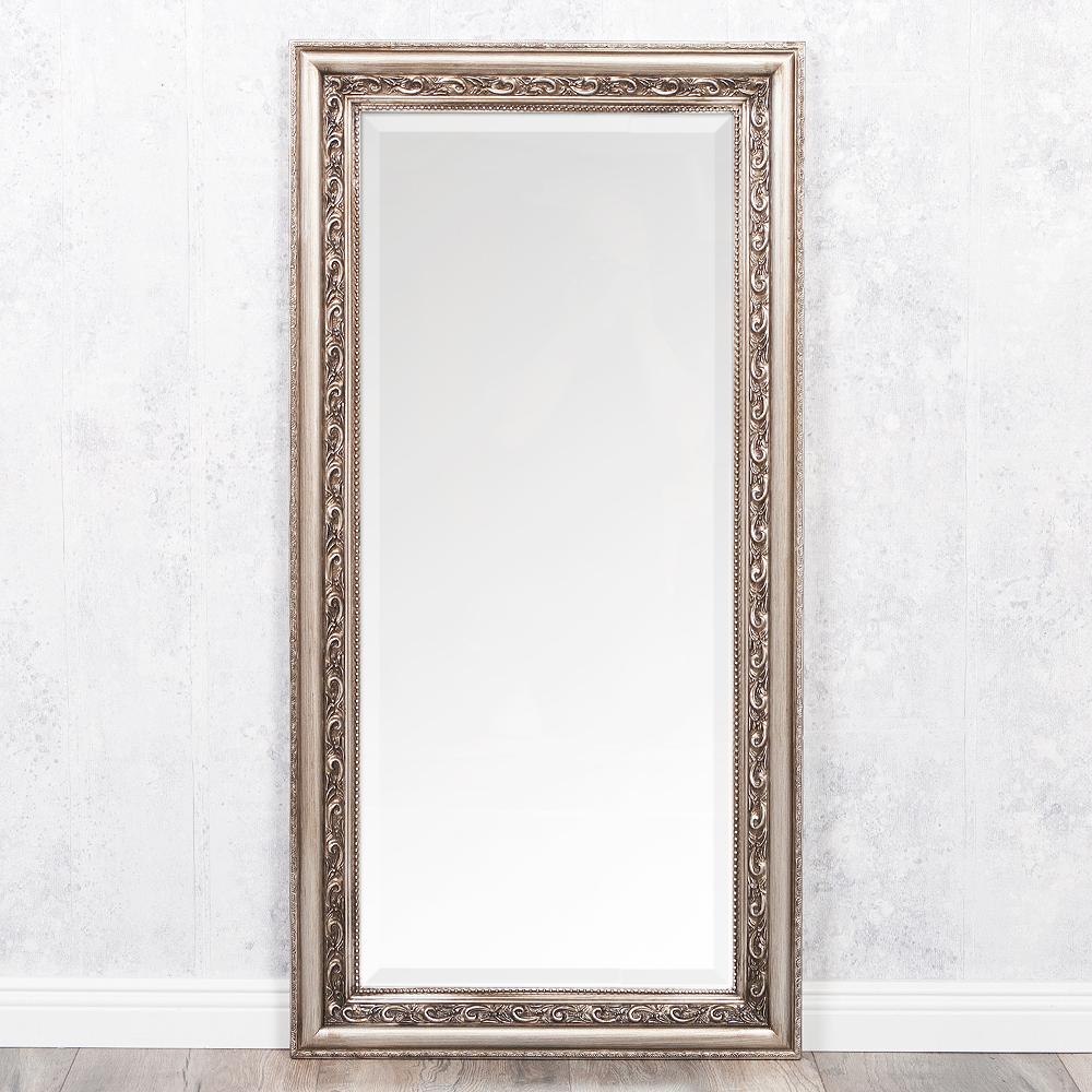 spiegel argento barock silber antik 100x50cm 4318. Black Bedroom Furniture Sets. Home Design Ideas