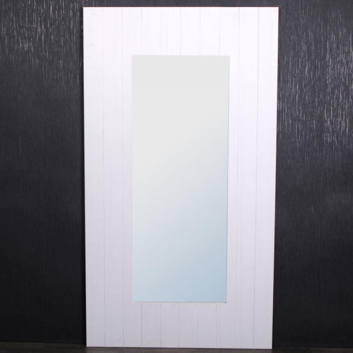 Wandspiegel Landhaus 180x100cm Spiegel weiß Shabby Chic Holz-Rahmen ...