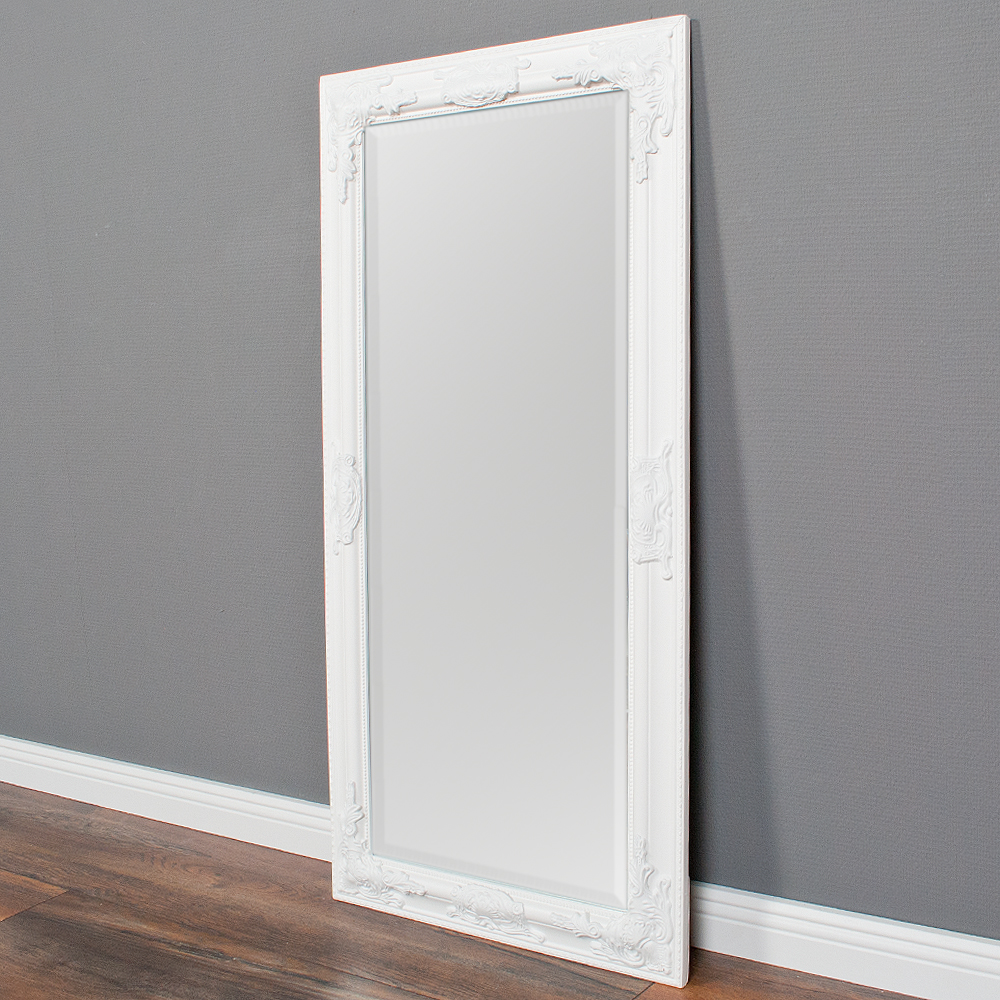 spiegel bessa barock wei pur 100x50cm 4507. Black Bedroom Furniture Sets. Home Design Ideas