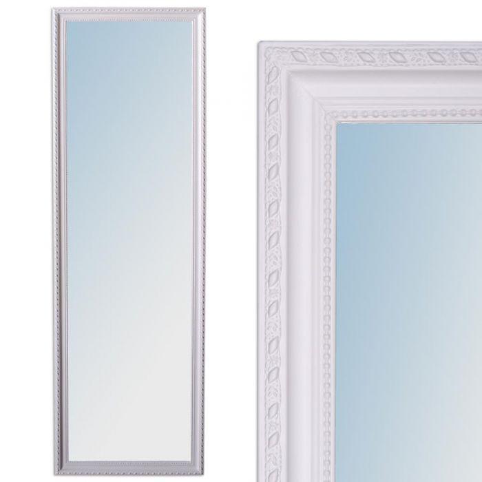 wandspiegel barock wei er pur spiegel 130x40cm stretto. Black Bedroom Furniture Sets. Home Design Ideas