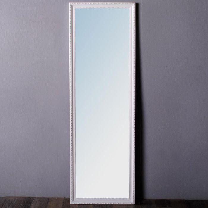spiegel stretto barock pur wei 130x40cm 4527. Black Bedroom Furniture Sets. Home Design Ideas