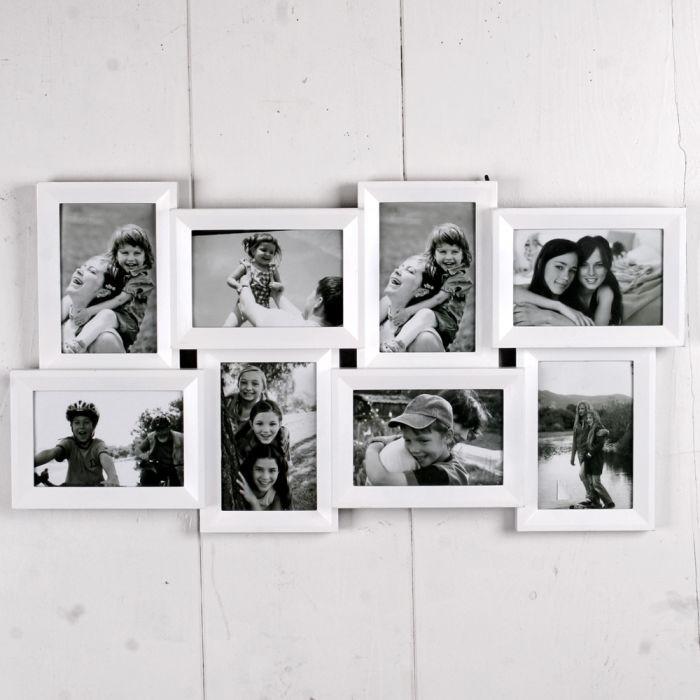 Multi-Fotorahmen GALERIE Bilderrahmen für 8 Fotos 4614