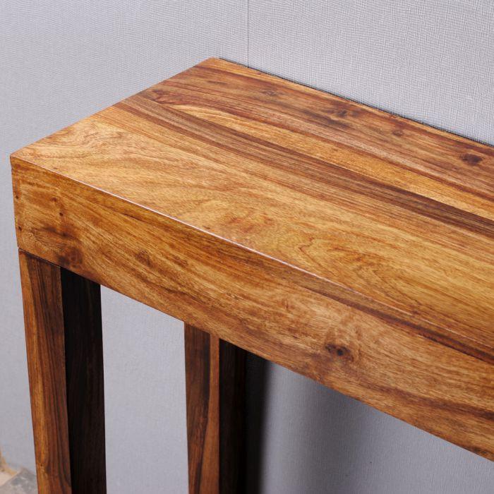 konsolentisch lino natural 120cm massiv palisander 4707. Black Bedroom Furniture Sets. Home Design Ideas
