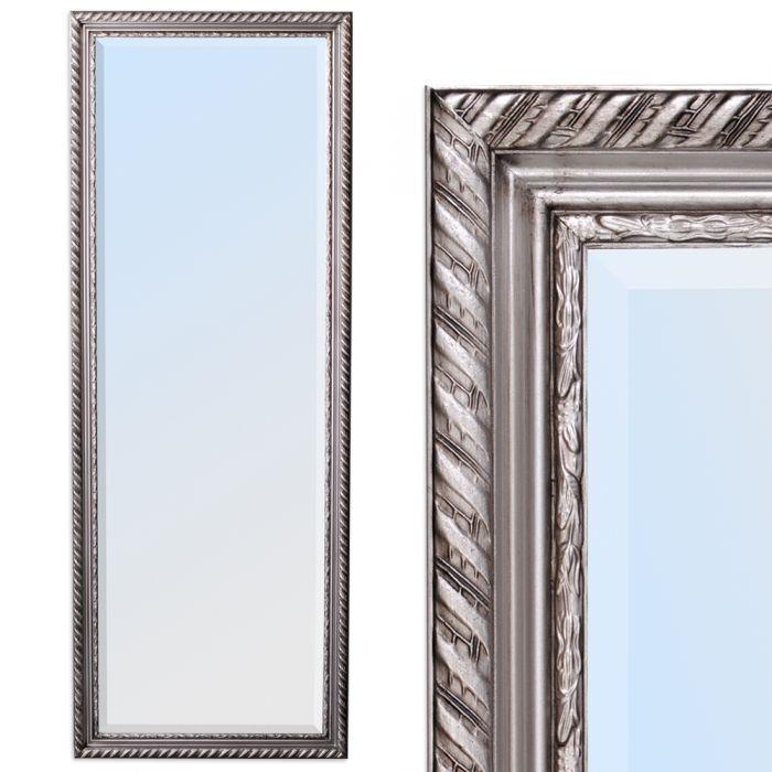 spiegel stripe barock silber antik 160x60cm 4785. Black Bedroom Furniture Sets. Home Design Ideas