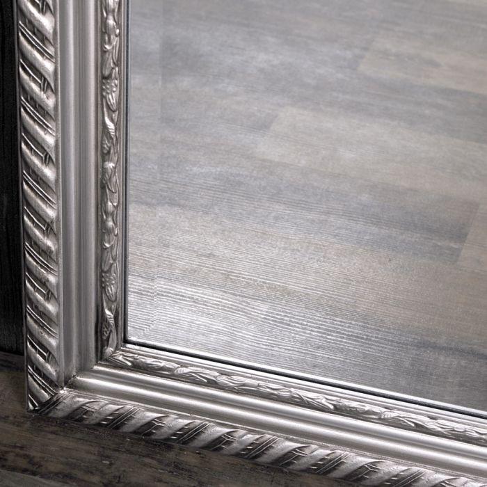 spiegel stripe 160x60cm silber antik barock 4785. Black Bedroom Furniture Sets. Home Design Ideas