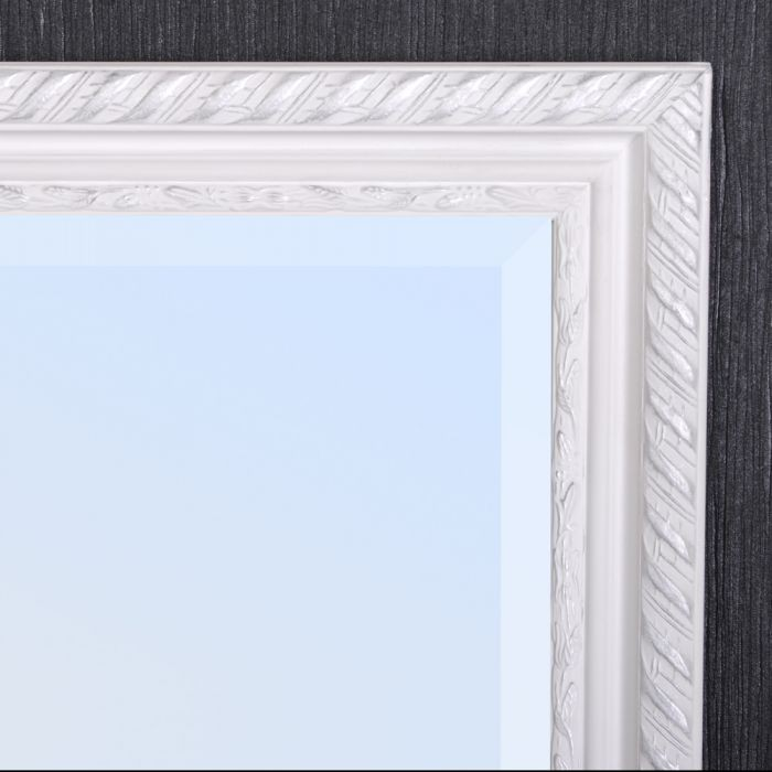 spiegel stripe 180x70cm wei silber barock 4794. Black Bedroom Furniture Sets. Home Design Ideas