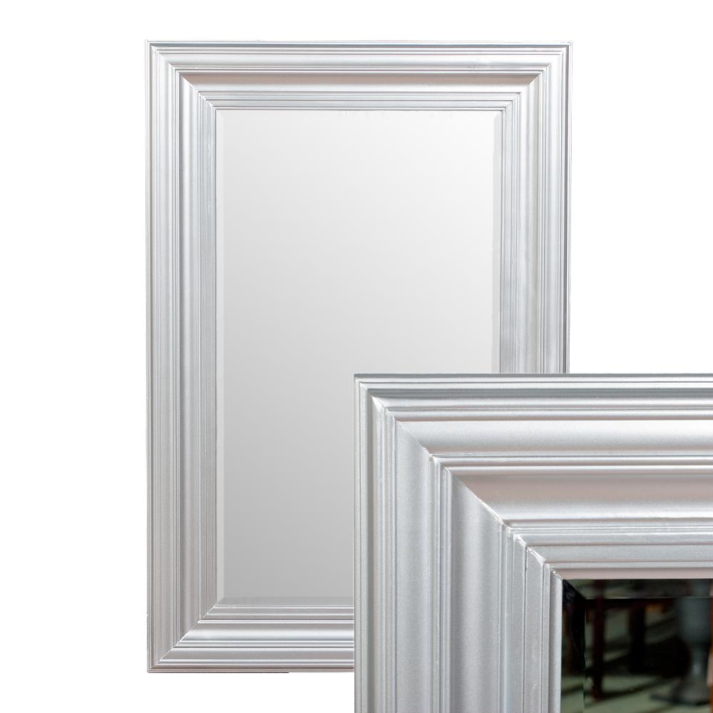 Spiegel kim silber 120x80cm 4814 for Spiegel 80 x 120