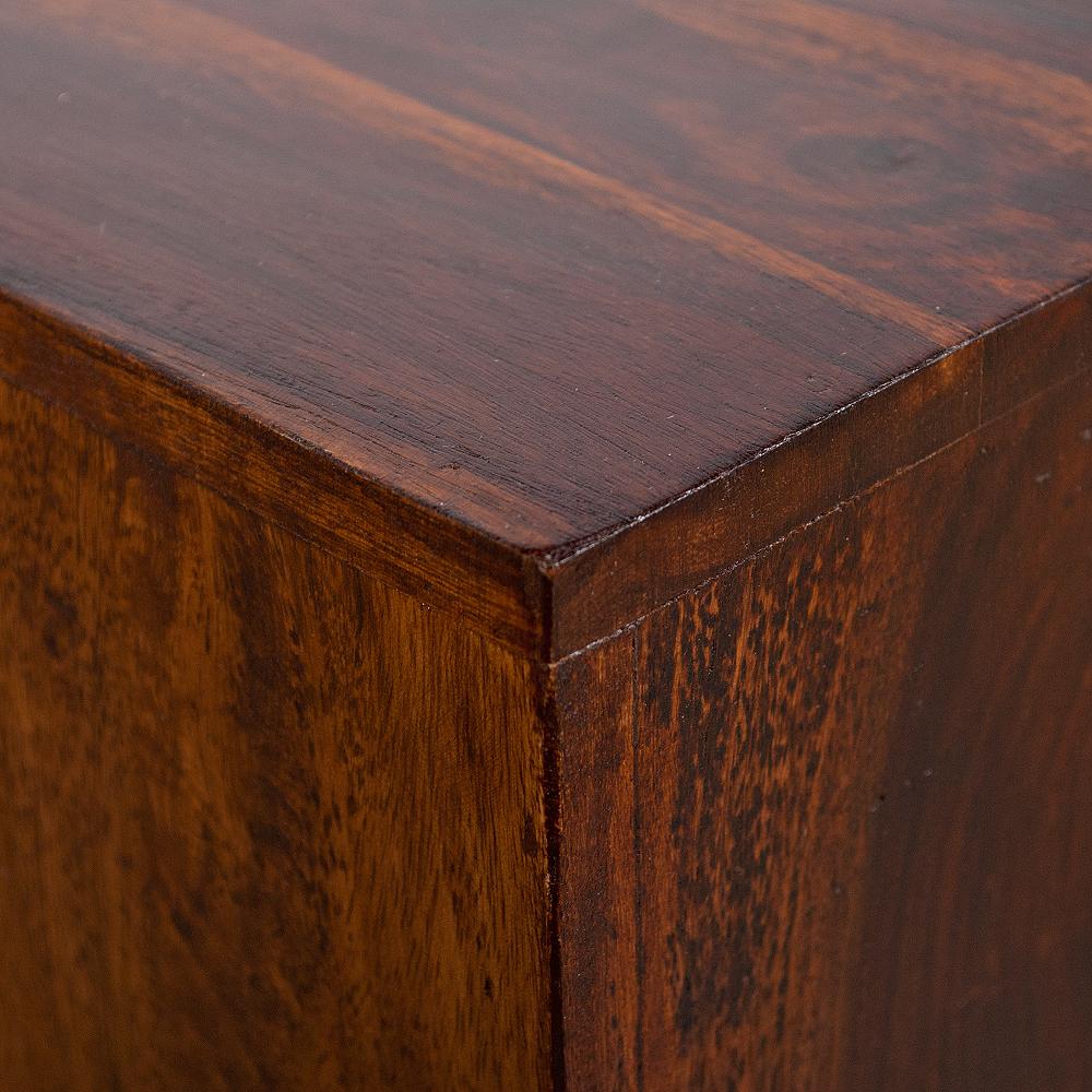 Beistelltisch ramu palisander dark brown 50cm 4911 for Beistelltisch palisander