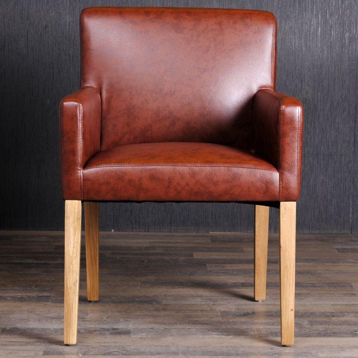 armlehnstuhl esszimmerstuhl textil lederstuhl vintage stuhl hatty antique light ebay. Black Bedroom Furniture Sets. Home Design Ideas