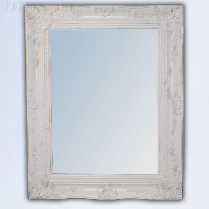 spiegel leonie barock wei gold 47x37cm 4993. Black Bedroom Furniture Sets. Home Design Ideas