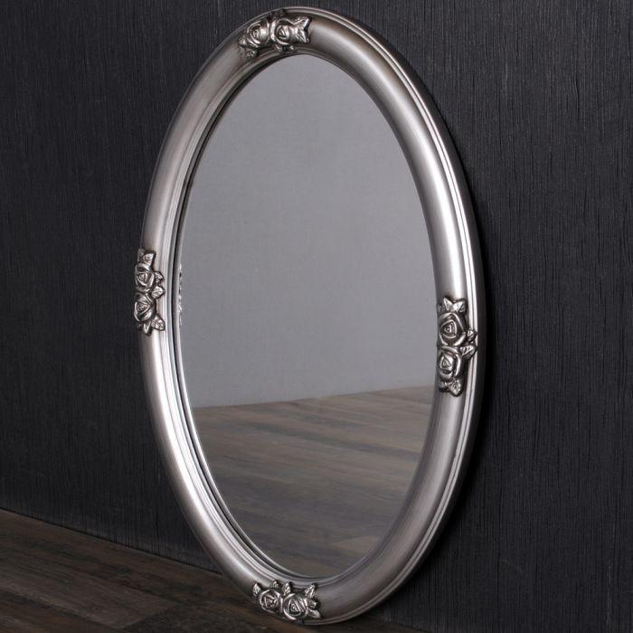 ovaler spiegel holzrahmen barockspiegel wandspiegel. Black Bedroom Furniture Sets. Home Design Ideas