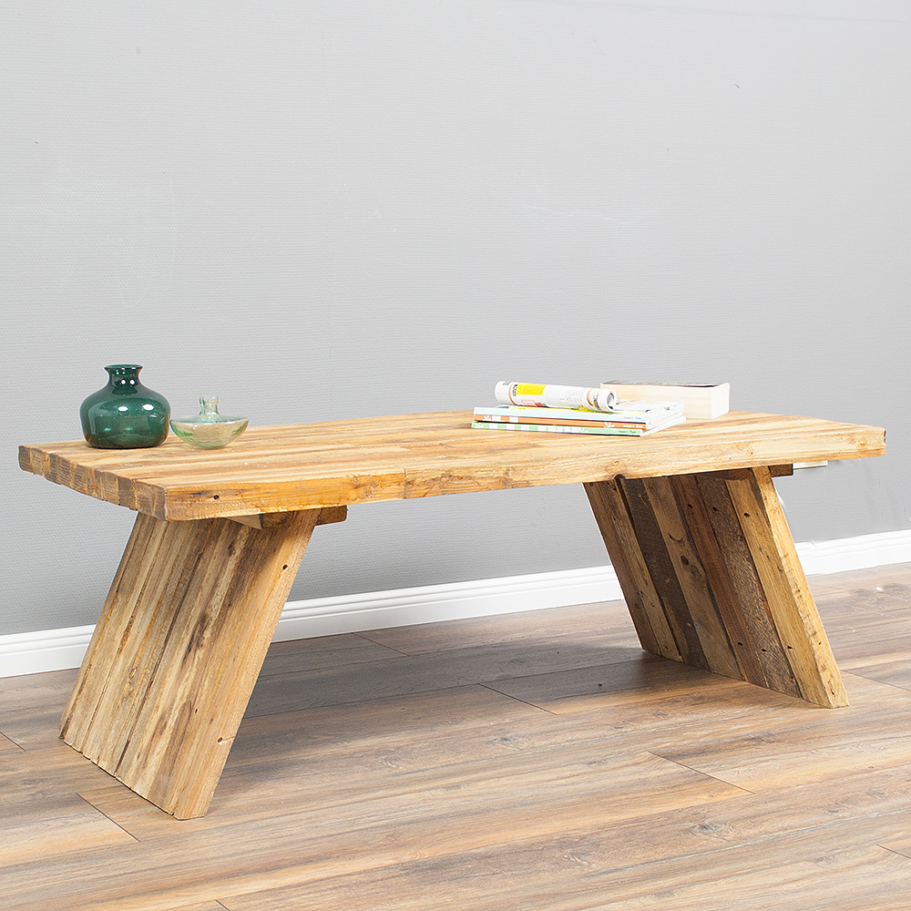 couchtisch massivholz wohnzimmertisch indo expa 120x60cm natural handmade table ebay. Black Bedroom Furniture Sets. Home Design Ideas