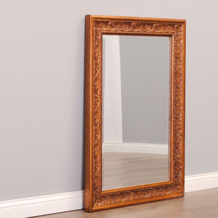 wandspiegel barock pomp s spiegel 70x50cm bronze antik holzrahmen wohnzimmer ebay. Black Bedroom Furniture Sets. Home Design Ideas